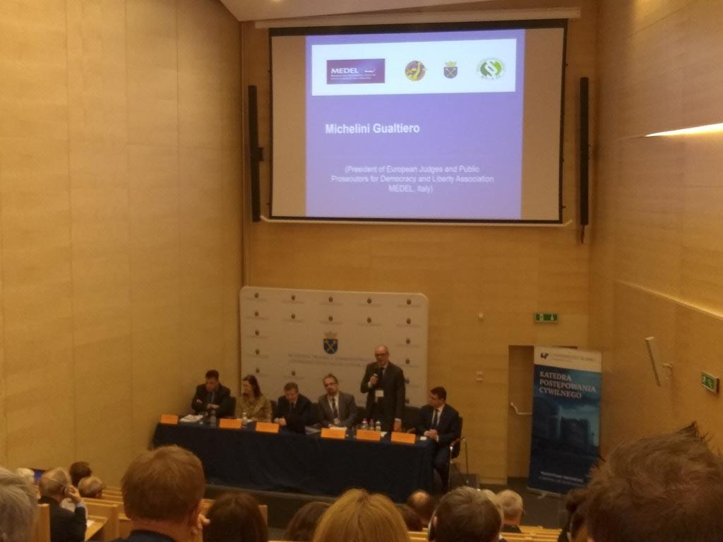 "MEDEL Conference: ""Courts management and access to justice system"""
