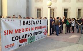 Support to Spanish Justice Strike on February 20th